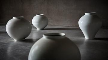Contemporary art exhibition, Kwon Dae-Sup, Moonjars at Axel Vervoordt Gallery, Antwerp, Belgium