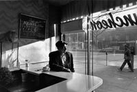 Early morning coffee, Harlem by Chester Higgins contemporary artwork photography