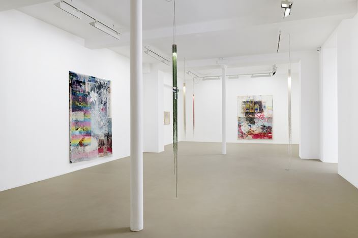 Exhibition view: Mimosa Echard, Numbs, Galerie Chantal Crousel, Paris (5 March— 10 April 2021). Courtesy the artist and Galerie ChantalCrousel, Paris. Photo: Aurélien Mole.