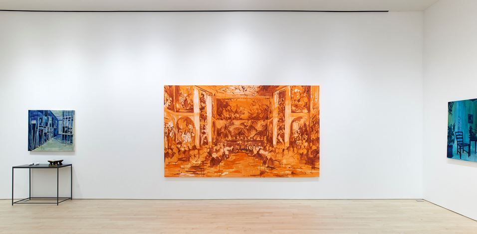 Exhibition view: Elizabeth Schwaiger, From the Dark Sea, Jane Lombard Gallery, New York (8 January–13 February 2021). Courtesy Jane Lombard Gallery.