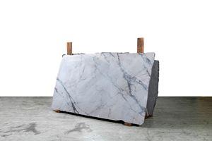 Afyon Rosato-Emperor Grey-C.Statuario/Scart by Guido Casaretto contemporary artwork