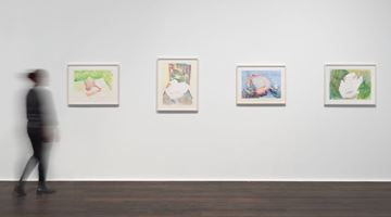 Contemporary art exhibition, Maria Lassnig, Zarter Mittelpunkt / Delicate Centre at Hauser & Wirth, Zurich