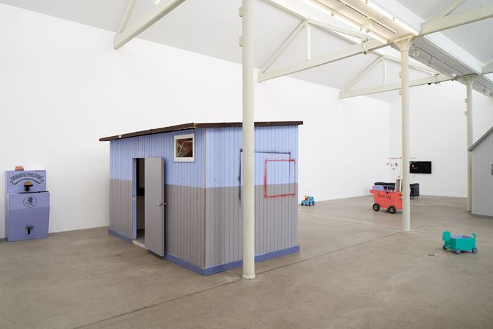 Exhibition view: Kim Eull, My Twilight Zone Studio, Kunsträume Michael Horbach, Cologne (10–30 August 2018). Courtesy the artist and CHOI&LAGER Gallery Cologne/Seoul.