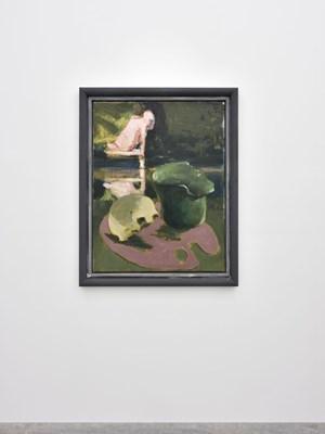 Palette (Arkadien) Altrosa by Markus Lüpertz contemporary artwork
