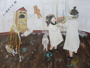 Make believe by Yang Yi Shiang contemporary artwork