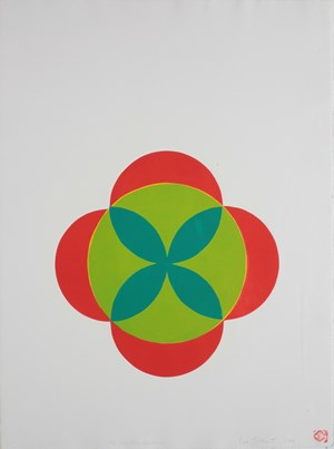 The Green Fuse the Drives by Max Gimblett contemporary artwork