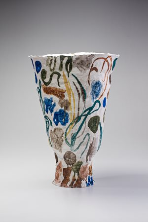 Large vase by Stephen Benwell contemporary artwork