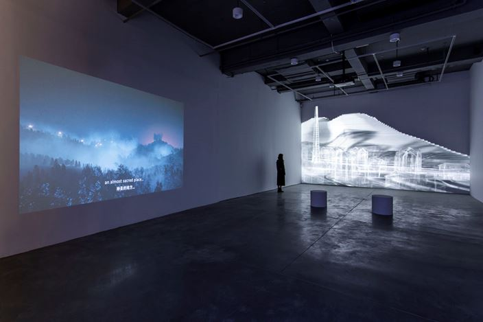 Exhibition view: Hayoun Kwon, Si proche et pourtant si loin咫尺天涯, Arario Gallery, Shanghai (28 February–5 May, 2019). Courtesy Arario Gallery.