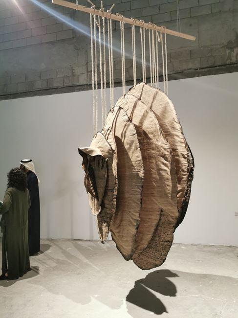 Ephemeral Witness by Manal AlDowayan contemporary artwork