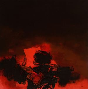 253 by Luis Feito contemporary artwork