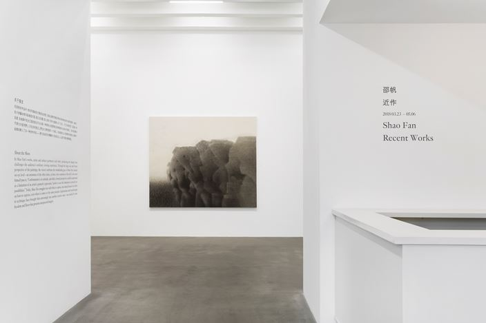 Exhibition views: Shao Fan, Recent Works, Galerie Urs Meile, Beijing (23 March-6 May 2018). Courtesy the artist and Galerie Urs Meile, Beijing-Lucerne.