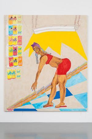 Pop by Tschabalala Self contemporary artwork