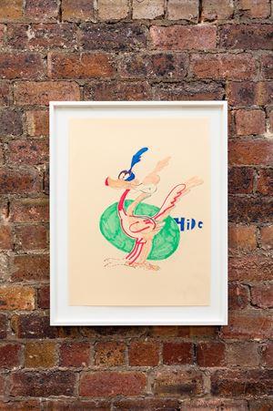 Run duck Hide by Walter Price contemporary artwork