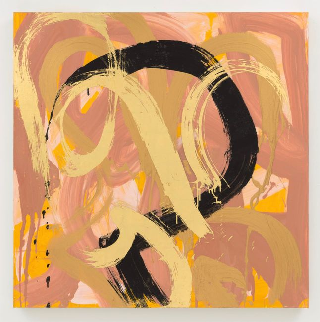 Mirror, Mirror on the Wall by Max Gimblett contemporary artwork