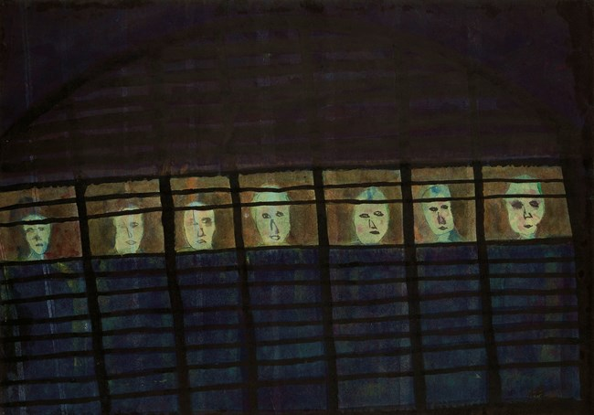 The Cage by Chu Hing-Wah contemporary artwork