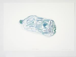 Lost Bottle by Gavin Turk contemporary artwork