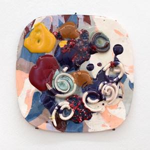 Snail environment by Polly Apfelbaum contemporary artwork