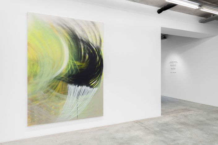 Exhibition view: Andrea Marie Breiling, I Think I Might've Inhaled You, Almine Rech, Brussels (11 March—10 April 2021).Courtesy the artist and Almine Rech. Photo: Hugard & Vanoverschelde.