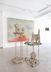 Exhibition view: Diane Chappalley and Anna Reading, The Auguries, Informality, Henley on Thames (26 August–25 September 2021). Courtesy Informality.