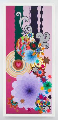 Uva Passa by Beatriz Milhazes contemporary artwork painting
