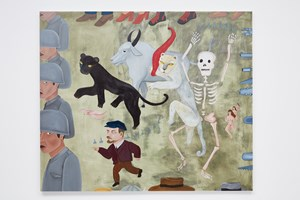 El Paro / The Strike by Cecilia Vicuña contemporary artwork
