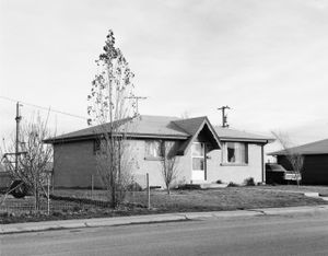 North Denver, Colorado by Robert Adams contemporary artwork