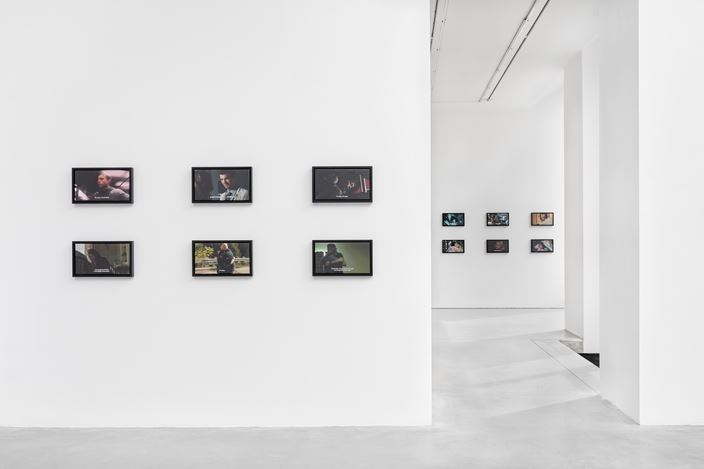 Exhibition view: Allan McCollum, EVERYTHING IS GOING TO BE OK, Galerie Thomas Schulte, Berlin (23 May–11 July 2020). Courtesy Galerie Thomas Schulte.