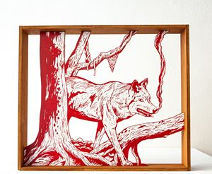 wolf by KEnichi Yokono contemporary artwork