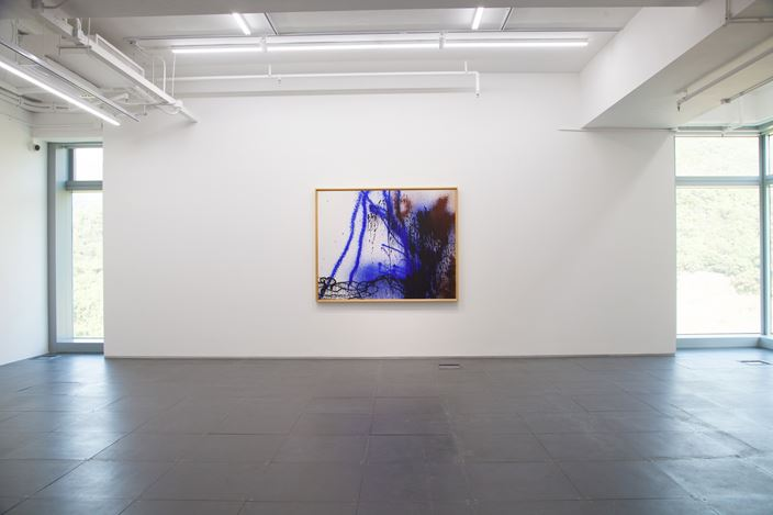 Exhibition view:Hans Hartung, Abstraction: A Human Language, de Sarthe Gallery, Hong Kong (25 November 2017-13 January, 2018). Courtesy de Sarthe Gallery, Hong Kong/Beijing.