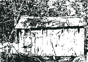 Ted's Cabin ‒ Exterior by Heribert C. Ottersbach contemporary artwork