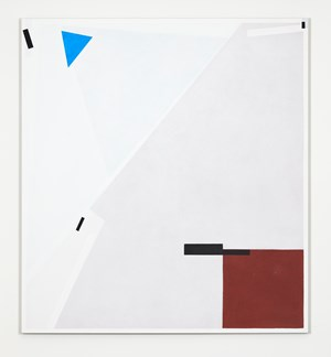 Wedge Blue Earth by Lynne Eastaway contemporary artwork