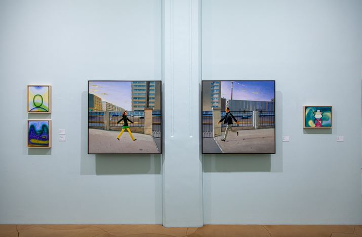 Exhibition view: State of Happiness 樂 / 觀, Hanart TZ Gallery, Hong Kong (13 March–9 April 2020). Courtesy Hanart TZ Gallery.