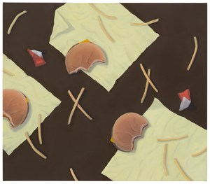 Happy Meal Pattern by Thomas Eggerer contemporary artwork
