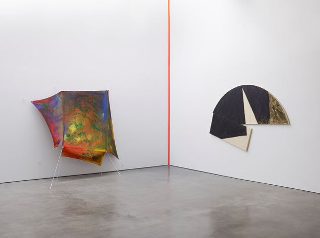 Exhibition view: Group Exhibition, Painters Reply: Experimental Painting in the 1970s and now, Lisson Gallery, West 24thStreet, New York (27 June–9 August 2019). Courtesy Lisson Gallery.