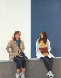 Conversation by Tim Eitel contemporary artwork painting