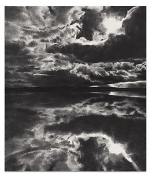 Horizon Bent By Light by April Gornik contemporary artwork