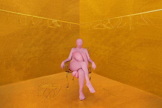 Seus moldes não me servem by Berna Reale contemporary artwork