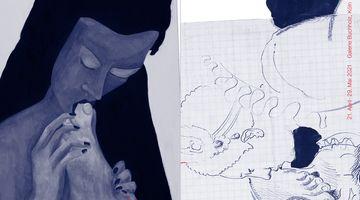 Contemporary art exhibition, Lukas Duwenhögger, Katharina Wulff, Lukas Duwenhögger, Katharina Wulff at Galerie Buchholz, Cologne