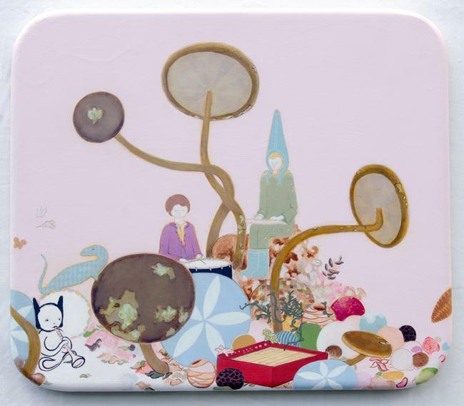 Trio and Mascot (Petite) by Mark Rodda contemporary artwork