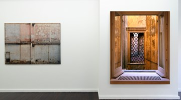 Contemporary art exhibition, Clay Ketter, Registration at Bartha Contemporary, Margaret St, London
