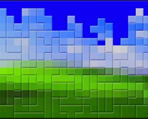 Tetris by Insane Park contemporary artwork