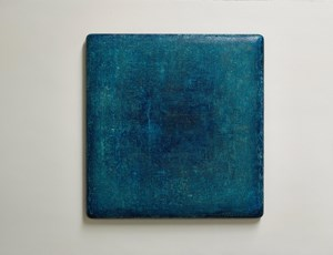 Cobalt Blue Charm 魅藍 by Su Xiaobai contemporary artwork painting, mixed media