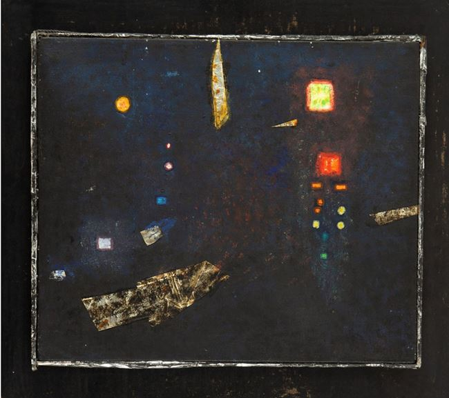 City by Erna Rosenstein contemporary artwork