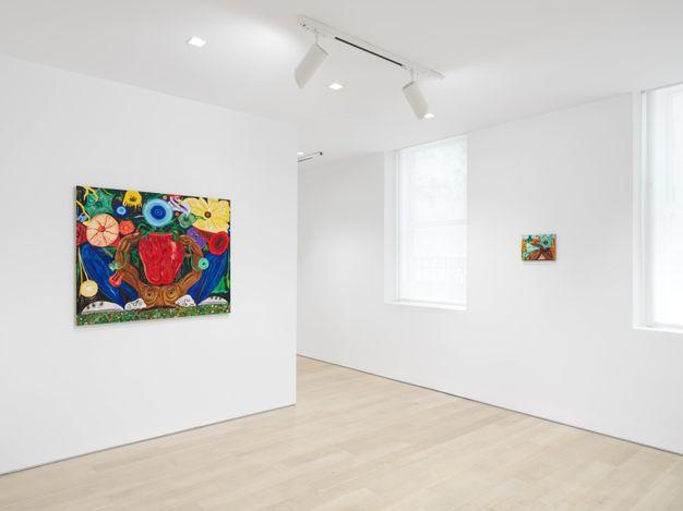 Exhibition view: Daniel Gibson, Ocotillo Song, Almine Rech, New York (10 June–30 July 2021). Courtesy the Artist and Almine Rech. Photo: Dan Bradica.