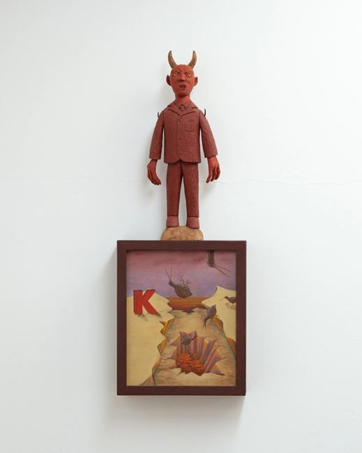 What the devil be warehouse by Harry Watson contemporary artwork