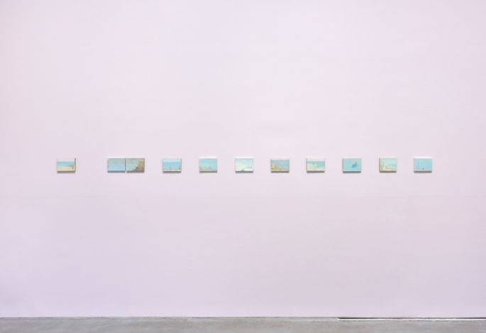 Exhibition view: Francis Alÿs, Don't Cross the Bridge Before You Get to the River, David Zwirner, Paris(27 May–17 July 2021). Courtesy David Zwirner.