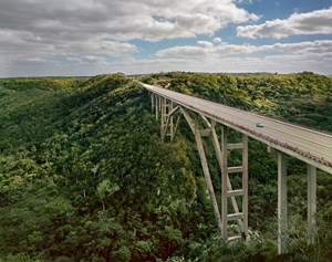 Via Blanca, Puente Bacunayagua, Cuba by Andrew Moore contemporary artwork
