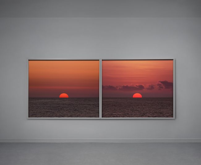 The End (Action #1) Still #3 and Still #5 by Andrea Galvani contemporary artwork
