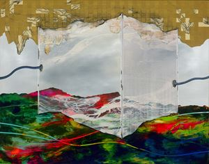 Seeking the Mist from History by Chou Tai Chun contemporary artwork
