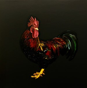 Rooster by Zeng Fanzhi contemporary artwork